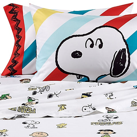 Peanuts Best Friend Twin-Size Microfiber Sheet Set - Super Smooth!