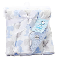 Snoopy Sherpa Baby Blanket - Super Soft!