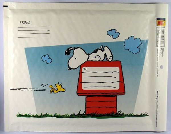 Snoopy Bubble-Padded Mailing Envelope - Small