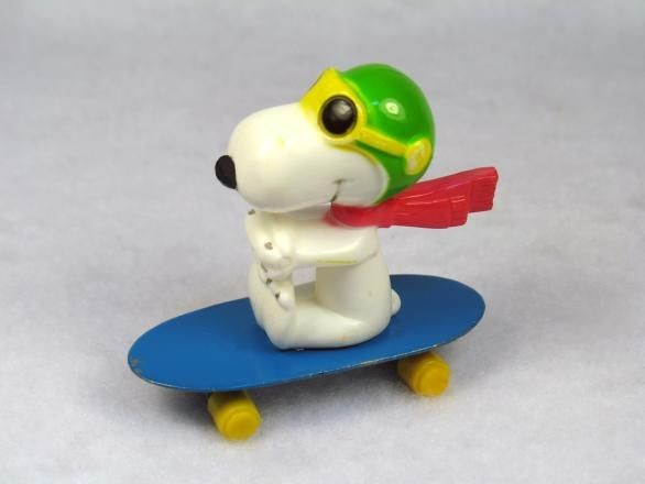 Flying Ace on Die-Cast Skateboard