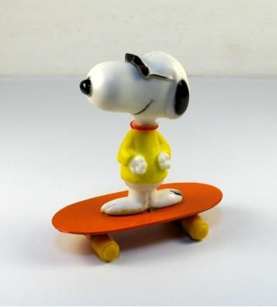 Joe Cool on Die-Cast Skateboard
