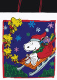 Snoopy Sledding Gift Bag