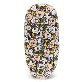 Peanuts Super Soft Plush Fuzzy Babba Slippers
