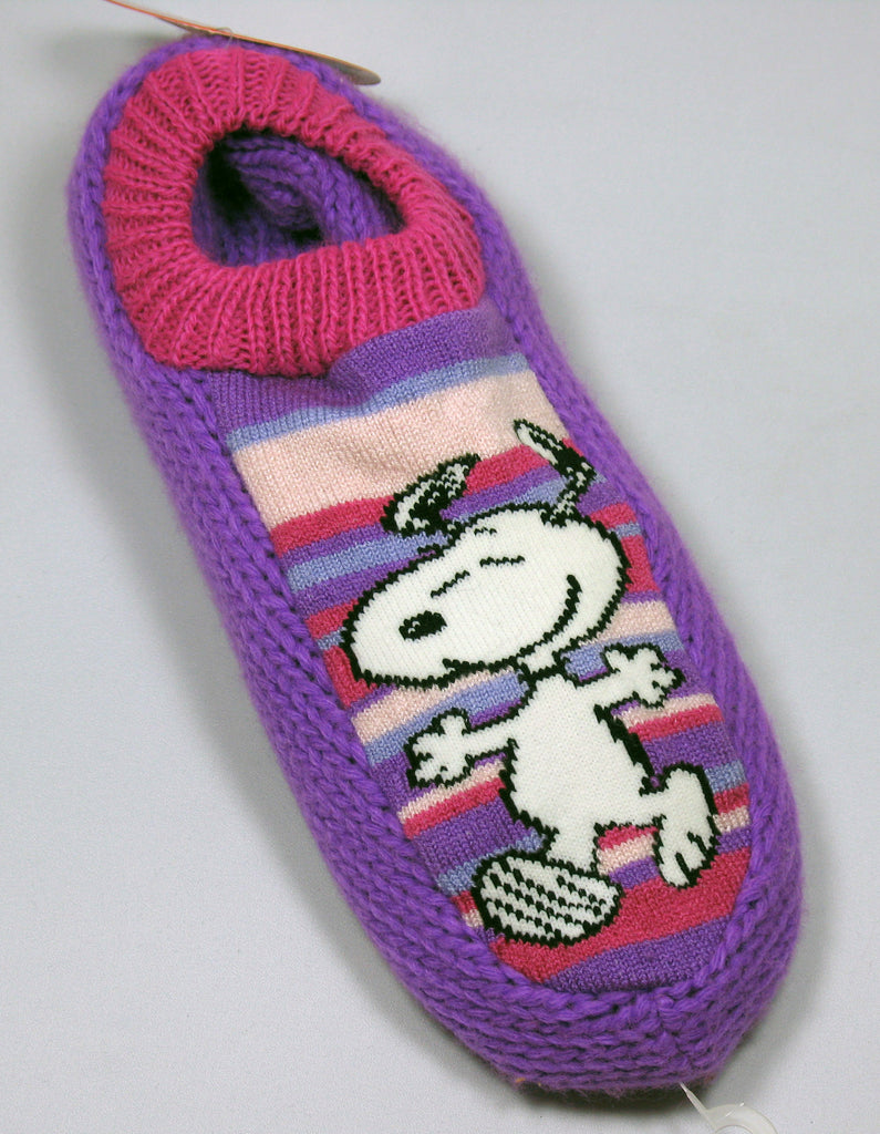 Snoopy Knit Slipper Socks