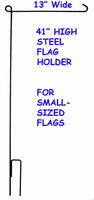 Steel Flag Holder Stand For Small-Sized Flags (13