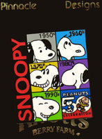 Snoopy Decades Pin - 50th Anniversary
