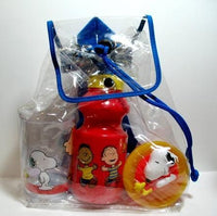 Snoopy Snack Sack Dish and Bottle Set