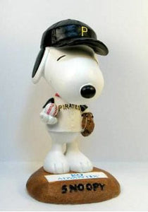 2004 Limited-Edition Snoopy Pittsburgh Pirates Bobblehead