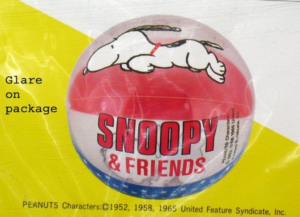 Snoopy Inflatable Beach Ball
