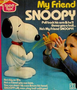 """My Friend Snoopy"" Bowling Game"