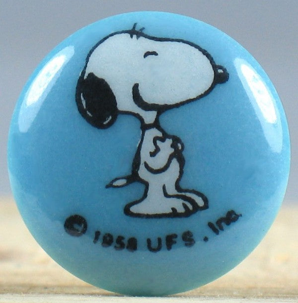 Snoopy Shirt Button