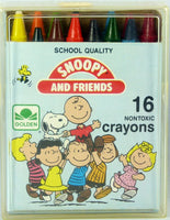 Snoopy and Friends Crayons Set