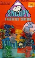 Snoopy-Shaped Crayons
