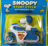 Snoopy On Friction-Powered Jump Cycle