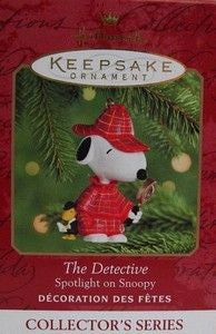 2000 Collector's Series #3 Christmas Ornament - The Detective