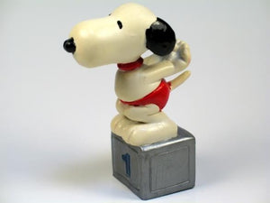 1984 OLYMPICS SNOOPY DIVER PVC