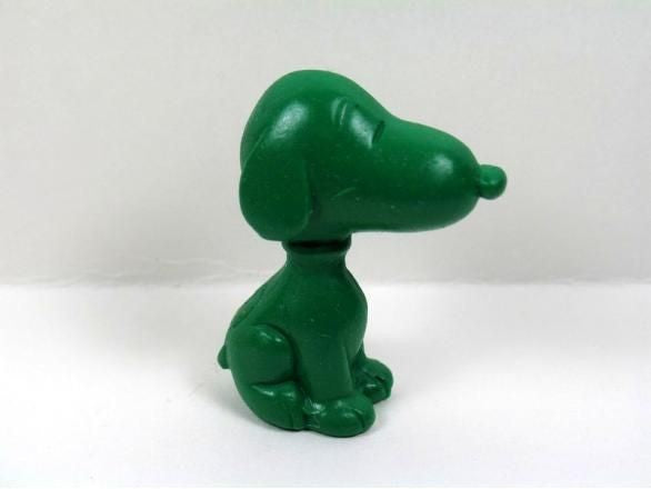 Snoopy Shaped Eraser - Green
