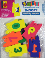 Snoopy  Foam Counting Play Set