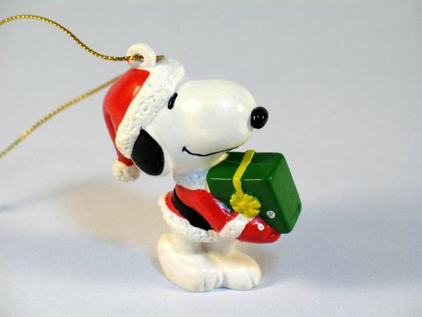 Snoopy Santa PVC Ornament