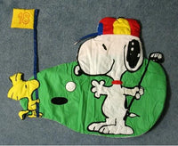 Snoopy Golfer Padded Wall Hanging Decor