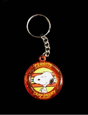 Camp Snoopy Snoopy Spinner Key Chain