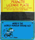 BIKING ACE License Plate