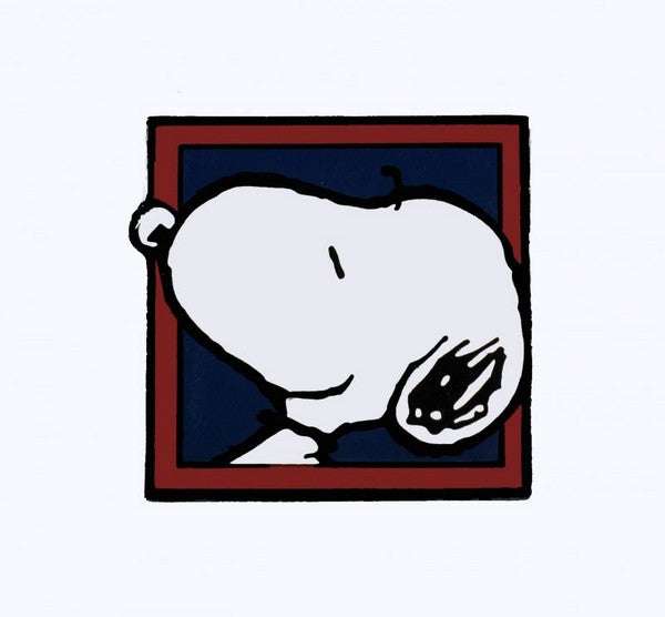Snoopy Big Face Magnet
