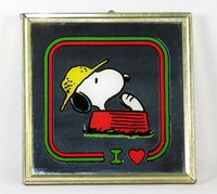 Snoopy Mini Decorative Wall Mirror