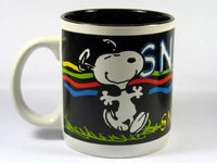 Personalized Black Mug - Snoopy