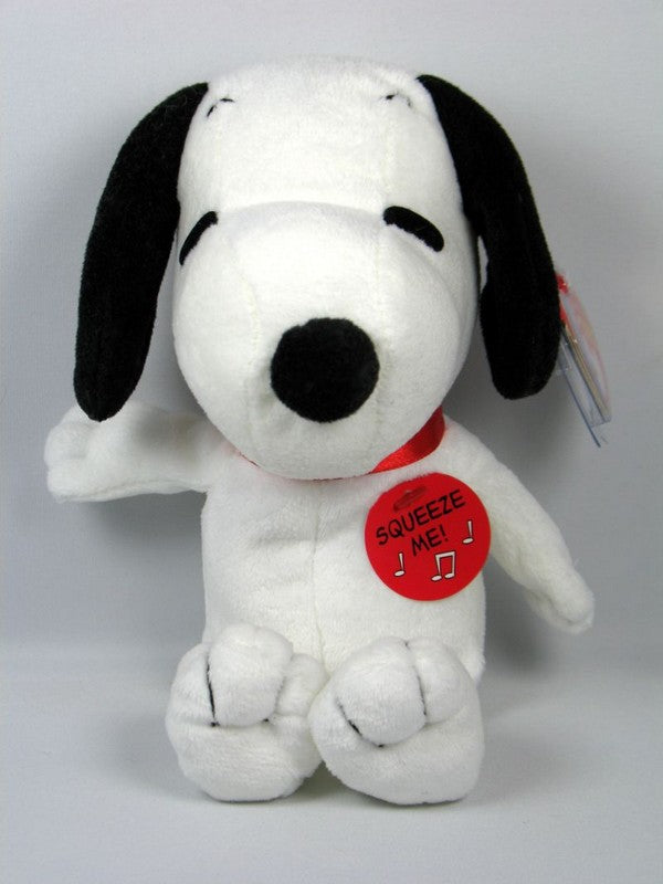 Ty Snoopy Musical Bean Bag Doll