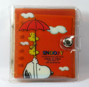 Snoopy and Woodstock Address Book and Notebook