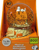 The Great Pumpkin 50th Anniversary Musical SnoMotion Musical Globe - Snoopy