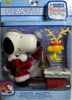 Deluxe Santa Snoopy Figure - Charlie Brown Christmas Memory Lane
