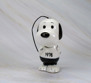 1975 Snoopy Runner Christmas Ornament - 1976
