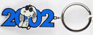 2002 Joe Cool Metal and Enamel Key Ring