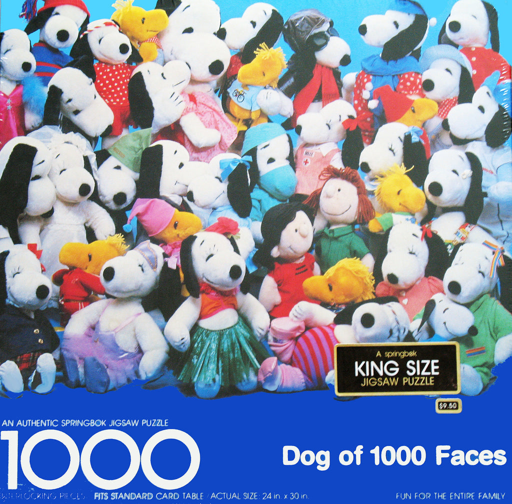 Snoopy: A Dog Of 1000 Faces King Size Jigsaw Puzzle
