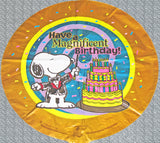 Snoopy Magnificent Birthday Balloon