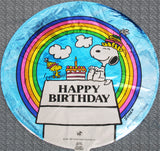 Snoopy and Woodstock Happy Birthday Balloon