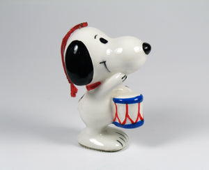 1975 Bicentennial Series Christmas Ornament - Snoopy Drummer