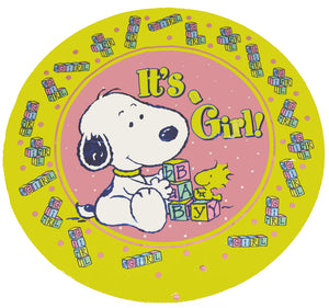 Baby Snoopy Balloon - It's A Girl!