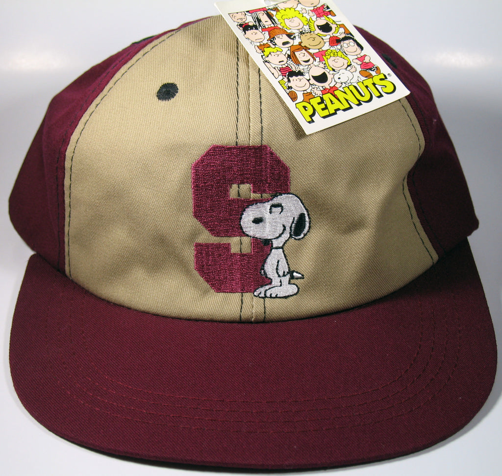 Snoopy Embroidered Ball Cap (NEW BUT FLAWED)