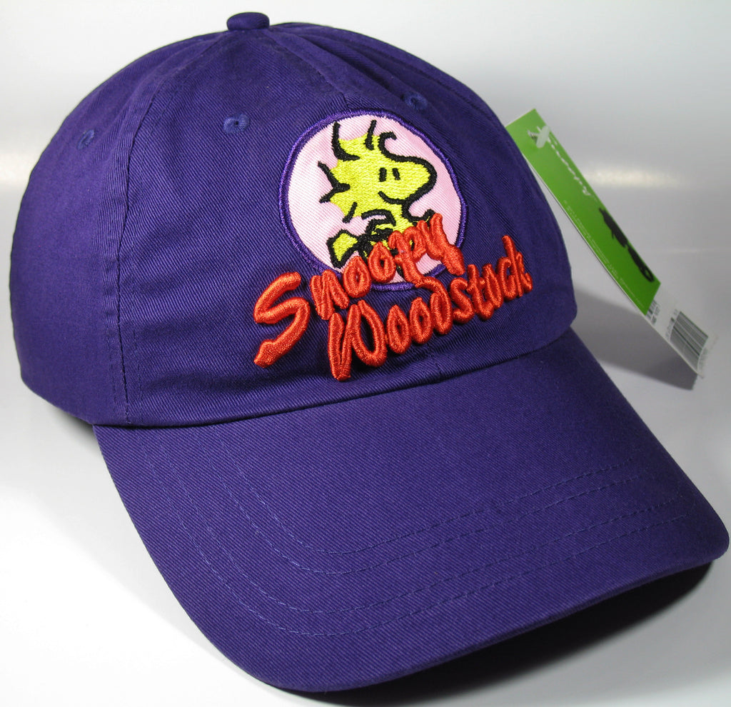 Snoopy and Woodstock Embroidered Ball Cap