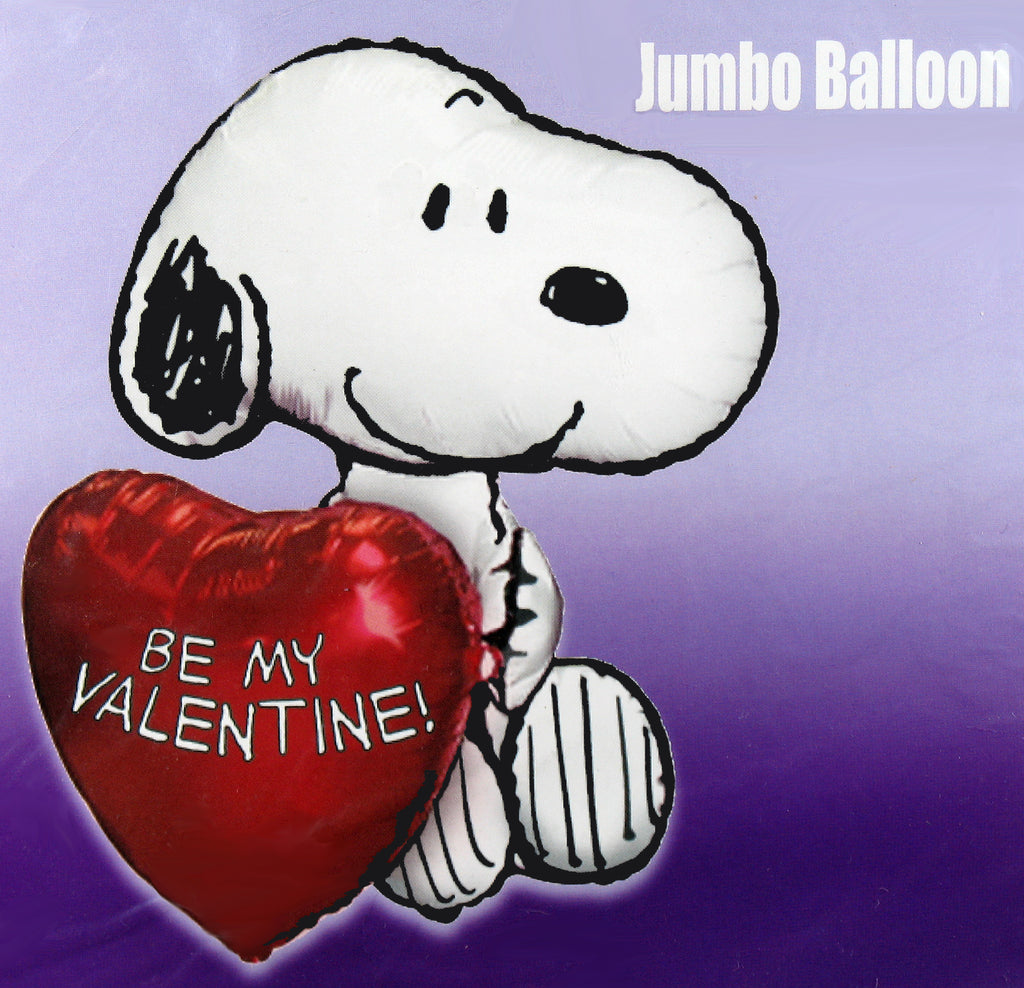 Snoopy Giant Valentine's Day Super-Shape Balloon