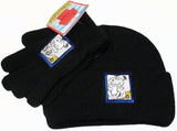 Snoopy Knit Hat and Gloves Set