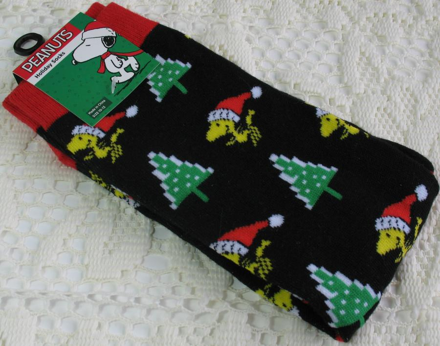 Men's Christmas Woodstock Socks