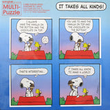 Snoopy Multi-Puzzle Jigsaw Puzzles