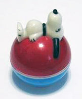 Snoopy Roly Poly Musical/Rattle Toy