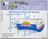 Snoopy Bathtub Inflatable Spout Cover