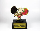 World's Greatest Football Player trophy