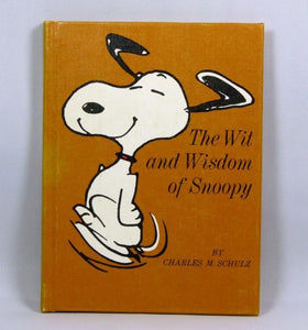 Hallmark Peanuts Philosophers Book: The wit and wisdom of Snoopy (Writing on 1 page)
